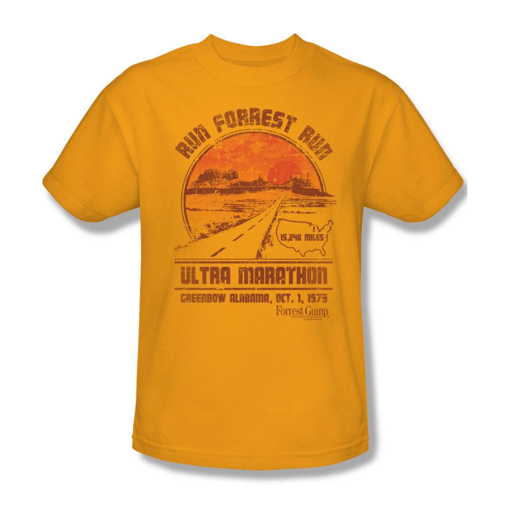 Run forest run gump marathon tshirt graphic tee