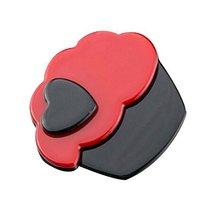Set of 2 Cake Hair Pin Fashion Hair Clip Creative Hairpin,Red/Black