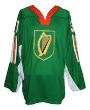 Any Name Number Ireland Retro Hockey Jersey Green Bailey Any Size image 1