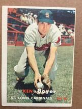 1957 Topps #122 Ken Boyer Baseball Card ST. Louis Cardinals EX Condition... - $6.99