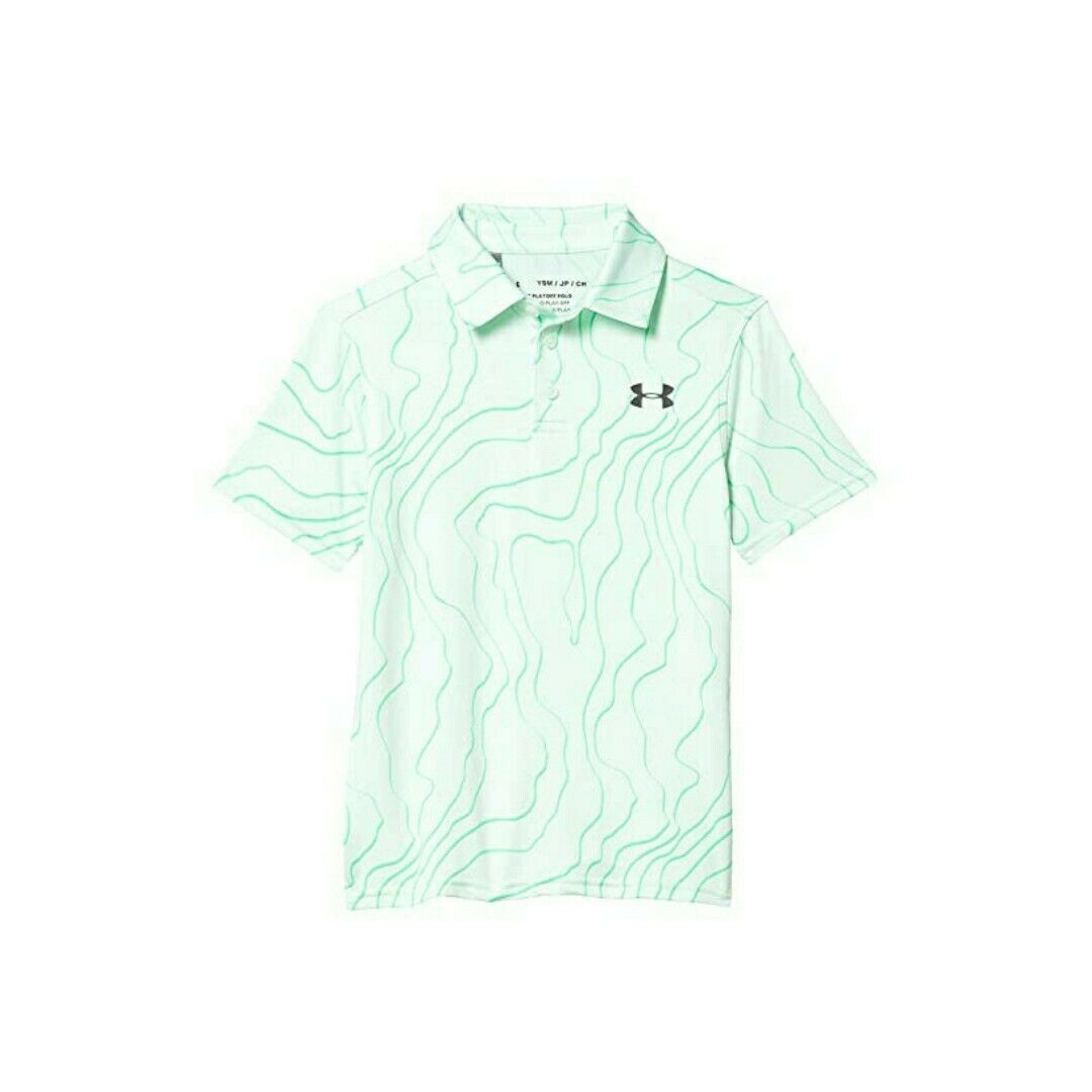 Under Armour UA Playoff Golf Polo Young Kids (Select Size) - $19.99