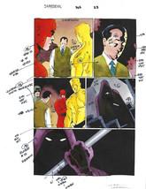 Original 1997 Daredevil 365 Marvel Comics color guide art pg: Molten Man/Mr Fear - $49.99