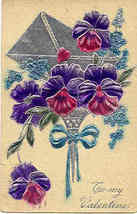 To My Valentine Paul Finkenrath of Berlin 1909 Post Card - $6.00