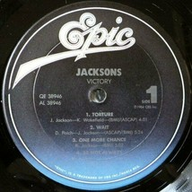 THE JACKSONS - VICTORY U.S. LP RECORD 1984 8 TRACKS BODY TORTURE BE NOT ... - $4.95