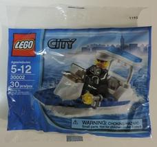 LEGO City Police Patrol Boat 30002 w/ minifigure - New - $9.50