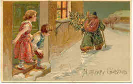 Father Christmas Paul Finkenrath Vintage Post Card - $45.00