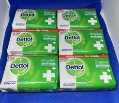 (Pack of 6) Dettol Antibacterial Bar Soap, 3.5 oz - $18.95