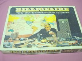 Billionaire 1973 Parker Brothers Global Enterprise Game - $24.99