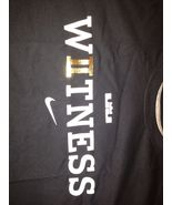 Nike LeBron James 2nd Championship Witness T-SHIRT SZ L - $46.57