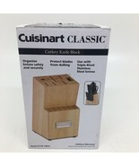 Cuisinart Classic Cutlery Knife 13 Slot Block C77TR-14BLK- Block Only-Op... - $15.88