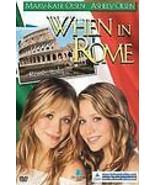 When in Rome (DVD, 2002) Mary-Kate Olsen, Ashley Olsen - $3.99