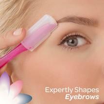 Eyebrow Exfoliating Dermaplaning Tool Facial Razor Schick Silk Touch-Up ... - $7.99