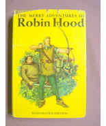 The Merry Adventures of Robin Hood 1946 HC Howard Pyle - $12.99