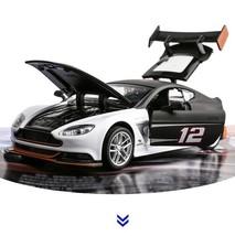 Aston Martin GT3 1:32 Diecast Alloy Metal Racing Model Car Toy Red/Black... - $19.99