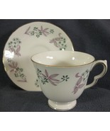 Colclough Bone China Footed Tea Cup & Saucer Set #8366 Wentworth Ridgway... - $14.97