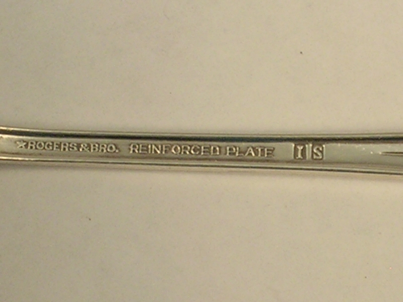 Rogers and Bros Dinner Fork in the Inspiration 1933 Pattern