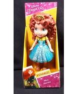 "Disney Princess Merida Mini Toddler 3"" poseable figure NEW - $8.95"