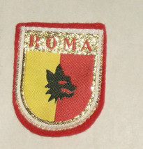 Roma Rome Italy Embroidered Sewn World Travel Patch - $9.41