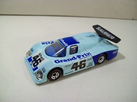 Vintage Matchbox Int'l Sauber Grand Prix Group C Racer DIE-CAST Car 1/55, 1984 - $14.65