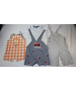 Good Lad Carters Babyworks Baby Boys 3-6 Months 3-6M Overall Polo Shirt ... - $14.84