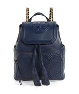 Tory Burch Fleming Royal Navy Backpack - $446.00