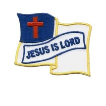 Embroidered Christian Patch Jesus Is Lord Patch - $3.95