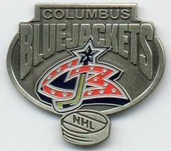 NHL Licensed Pin Columbus Blue Jacket Hockey Pewter Pin - $5.00