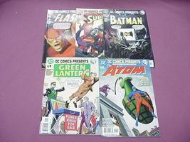 5 Issues DC Comics Presents #1 Atom, Batman, Superman - $14.99