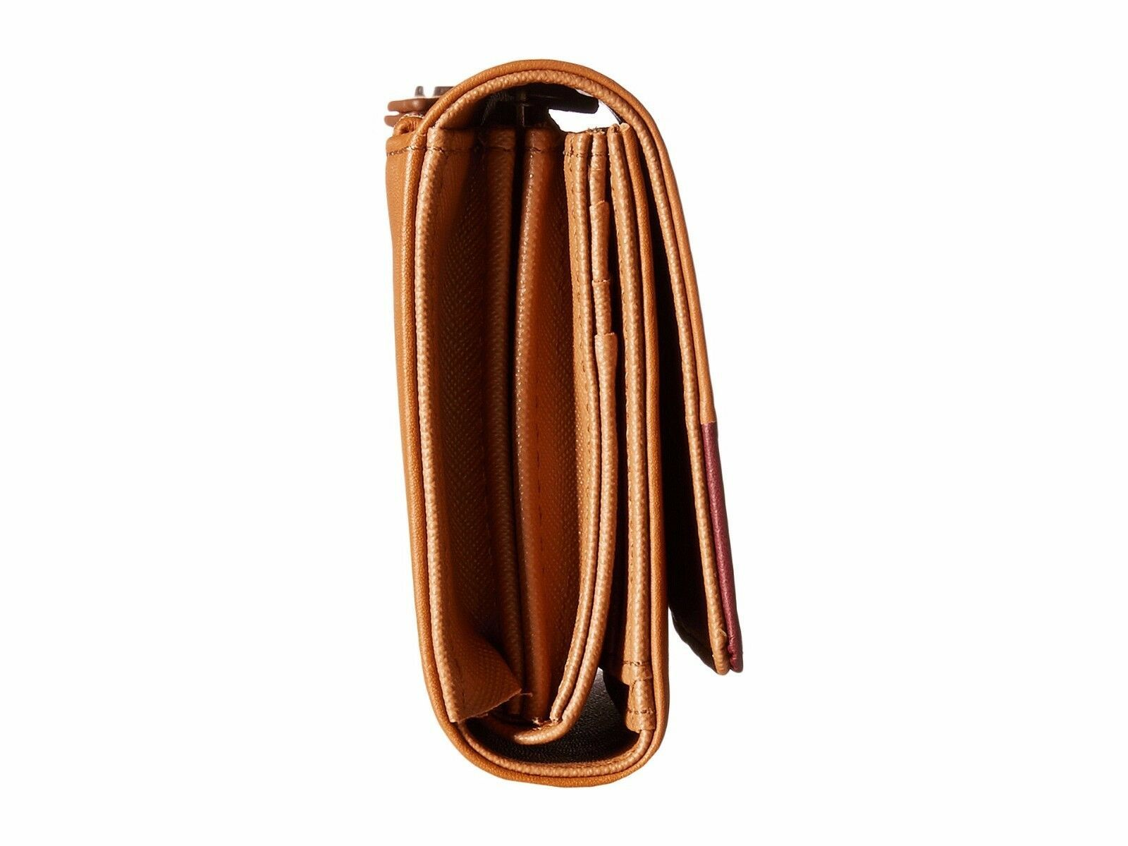 New Fossil Dawson Women Flap Leather Clutch Variety Color image 8