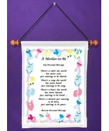 A Mother to Be - Personalized Wall Hanging (531-1) - $18.99