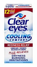 Clear Eyes | Cooling Comfort Redness Relief Eye Drops | 0.5 FL OZ | Pack... - $20.57