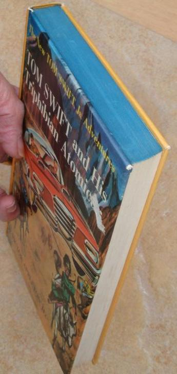 Tom Swift and His Triphibian Atomicar #19 1st first ed. PC Victor Appleton II