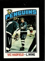 1976-77 TOPPS #226 VIC HADFIELD EXMT PENGUINS  *X3784 - $3.96