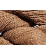 Med/Light Fawn 100% Huacaya Alpaca Yarn 3 ply 4 ounce DK/Worsted/Sport W... - $22.00