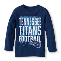 NFL Tennessee Titans Boy or Girl Long Sleeve Shirt  Infant   NWT - $13.49