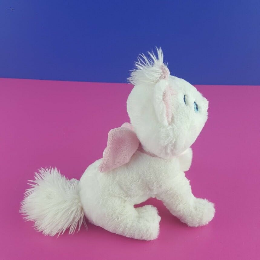 "Disney Store Aristocats Plush Marie Sitting White Kitten Cat Stuffed Animal 7"" image 4"