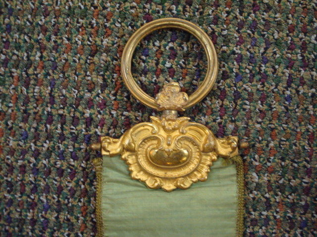 Wall Hanging with Brass Decoration