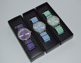 "Avon ""Shades of Spring"" Pretty Pastel Expansion Watch **PICK** NIB - $21.21 CAD"