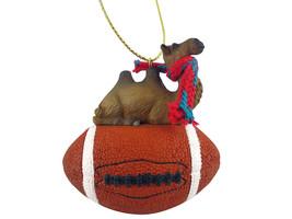 Camel Bactrian Football Ornament - $17.99