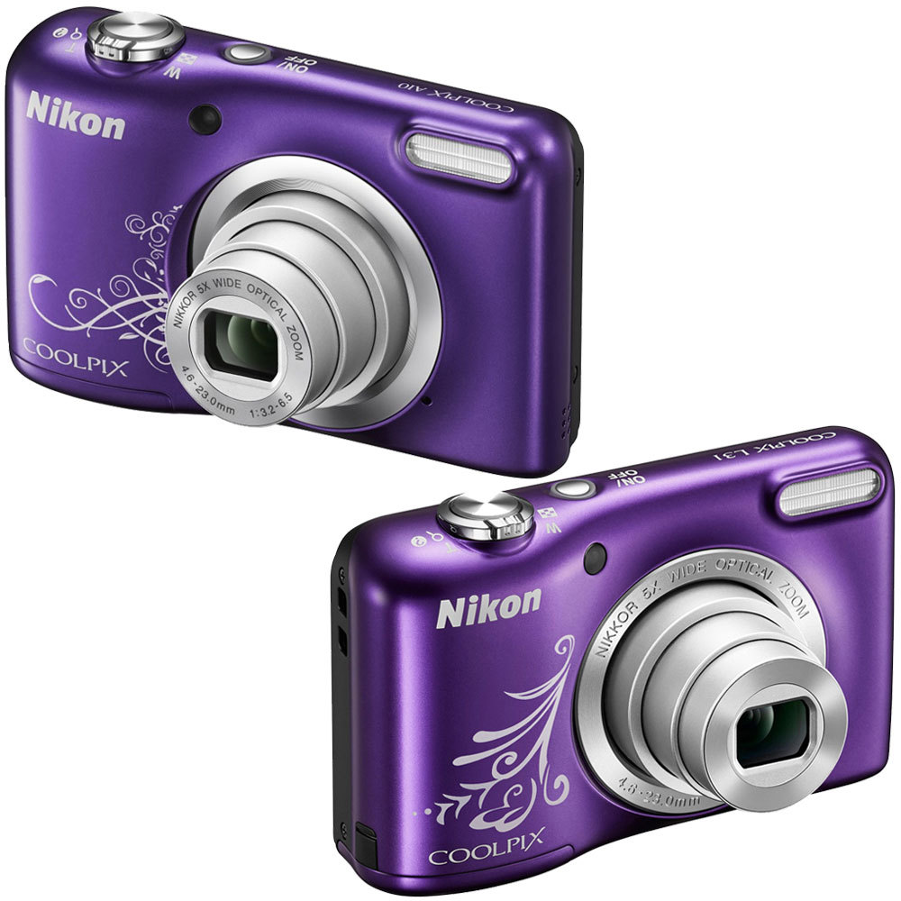 Nikon Coolpix A10 161 Mp Digital Camera And 50 Similar Items S3600 201mp Silver Ebay Purple