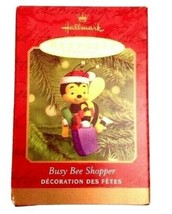 VTG Hallmark Keepsake Christmas Ornament - Busy Bee Shopper Handcrafted 2000 - $11.14