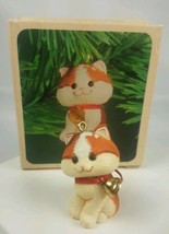 Vintage 1982 Hallmark Keepsake Ornament Christmas Kitten in Original Box... - $9.85