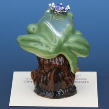 Birthstone Tree Frog Prince September Sapphire Miniatures by Hagen-Renaker image 3