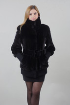 Luxury gift/Blackglama Mink fur coat Full Skin /Wedding,or anniversary p... - $2,399.00