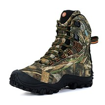 Manfen Women's Mid-Rise Waterproof Hiking Shoe US 9 - $73.09