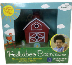Educational Insights Peekaboo Barn Game NEW - $45.53