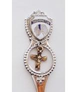 Collector Souvenir Spoon USA Washington Native Headdress Totem Pole Charm - $4.99