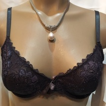 Felina gray lace demi underwire bra RB041 NEW 34B - $19.95