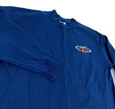 Budweiser Beer Maine Mountains Blue Long Sleeve T Shirt Sz XL - $14.99