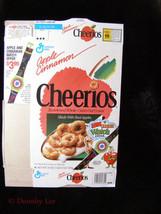 General Mills Apple Cinnamon Crunch Cereal Box Flat Watch Offer - $16.99